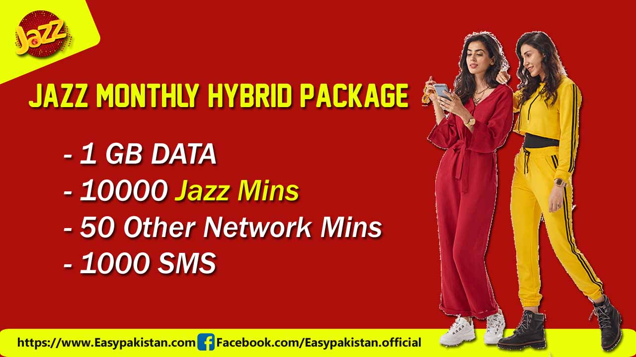 Jazz monthly hybrid package